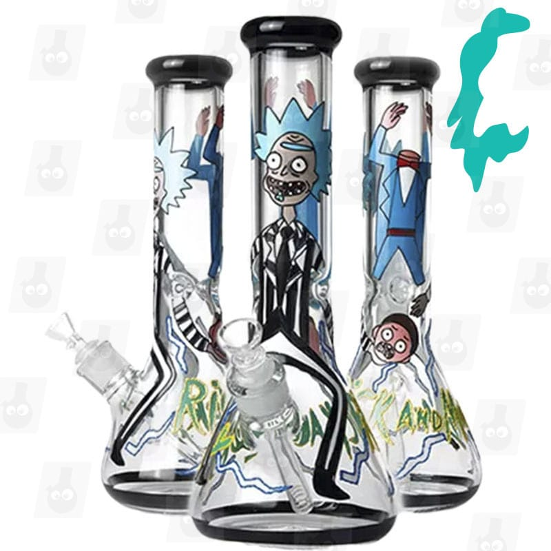 Rick and Morty Bong Collection 5 Option C 13.5 inches Ice Bong mark