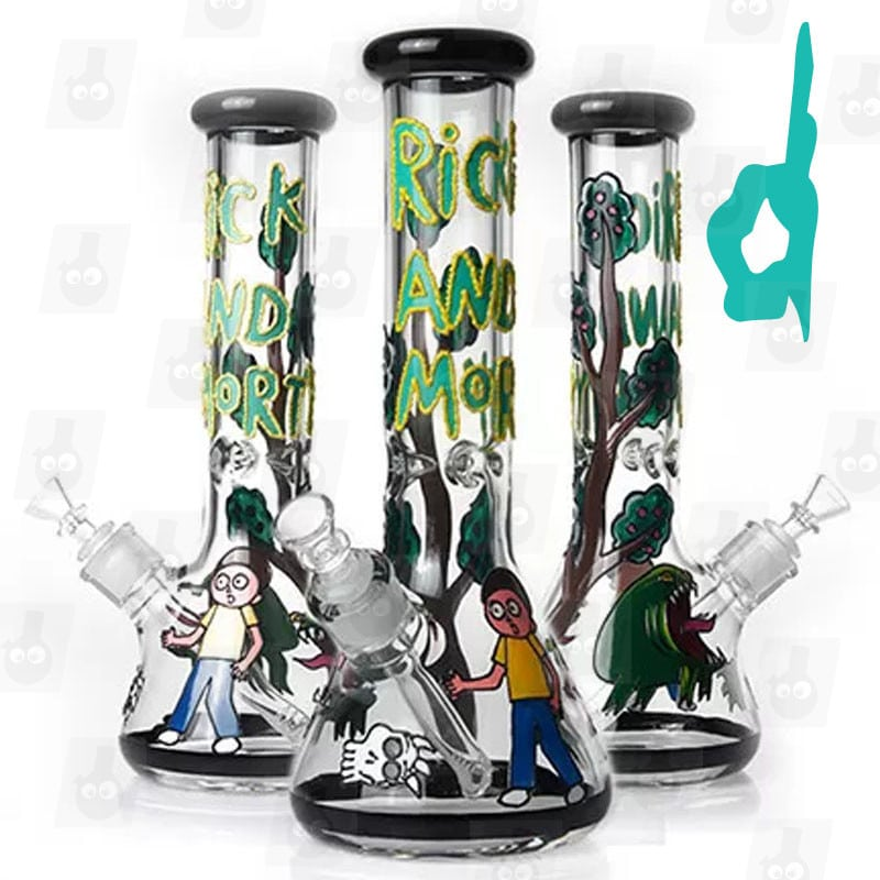Rick and Morty Bong Collection 5 Option D 13 mark