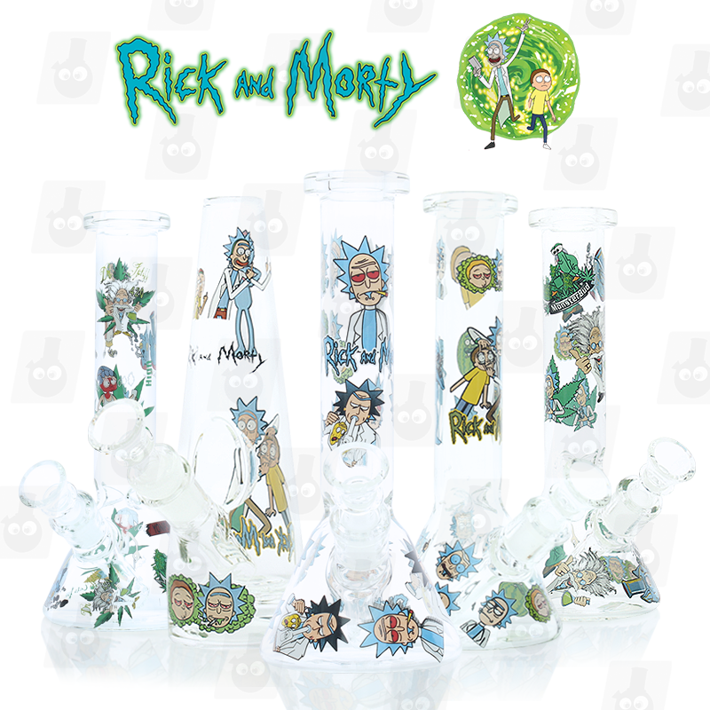 Rick and Morty Bong Collection 1 8 Inches Ice Bongs