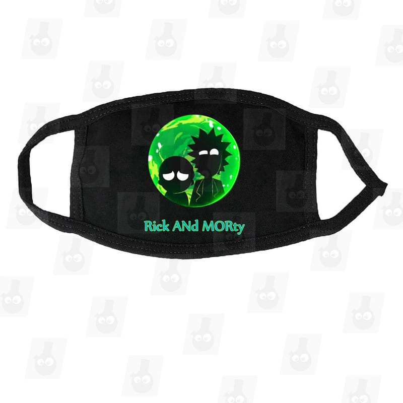 Rick and Morty Mouth Mask b