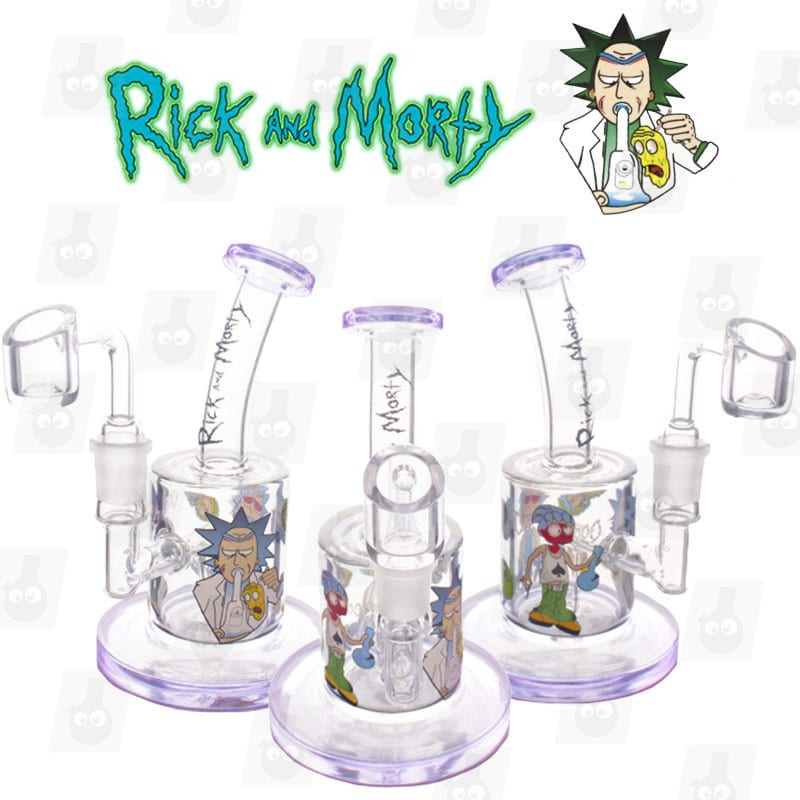 Rick and Morty Dab Rig Collection 1 Purple