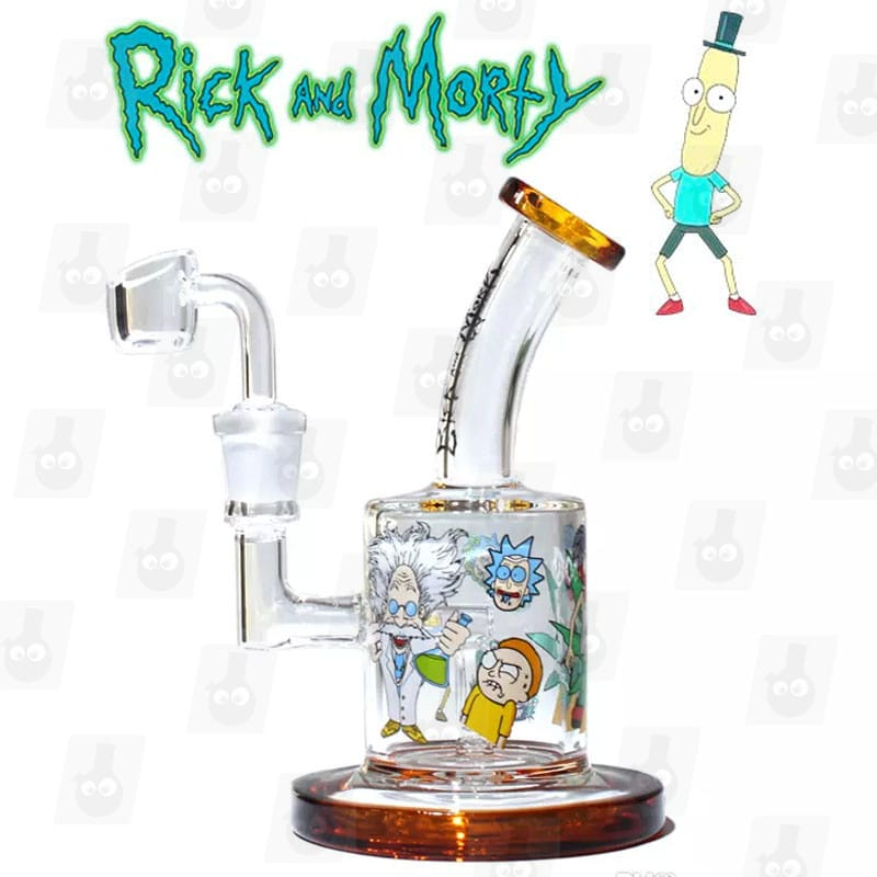 Rick and Morty Dab Rig Collection 1 orange solo