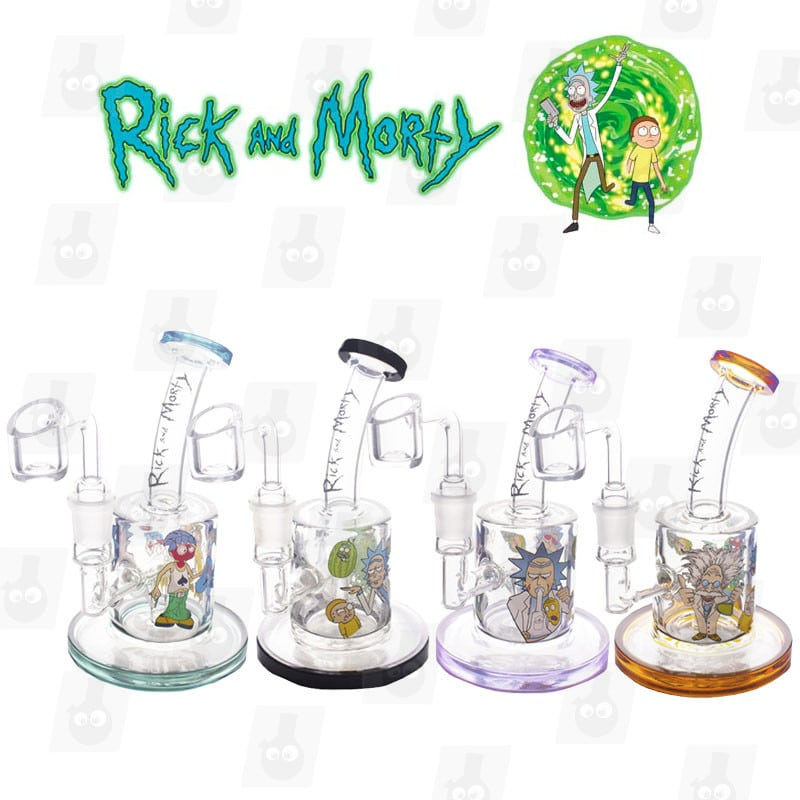 Rick and Morty Dab Rig Collection 1