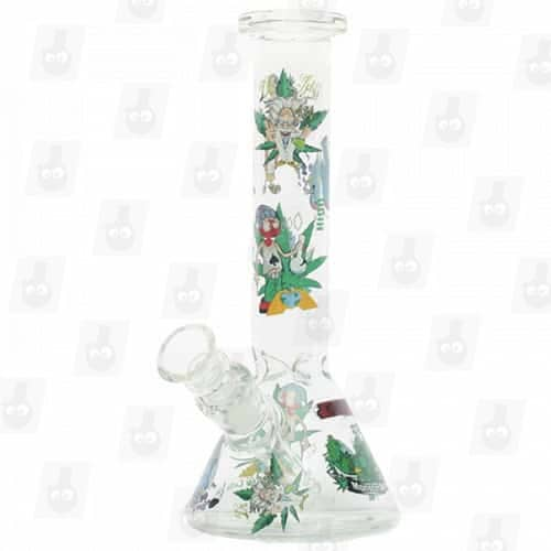 Rick and Morty Glass Collection 1 Option B 8 Inches Water Piece10