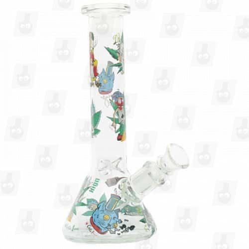 Rick and Morty Glass Collection 1 Option B 8 Inches Water Piece4