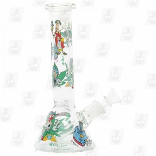 Rick and Morty Glass Collection 1 Option B 8 Inches Water Piece5