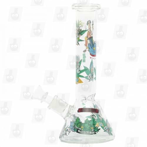 Rick and Morty Glass Collection 1 Option B 8 Inches Water Piece9