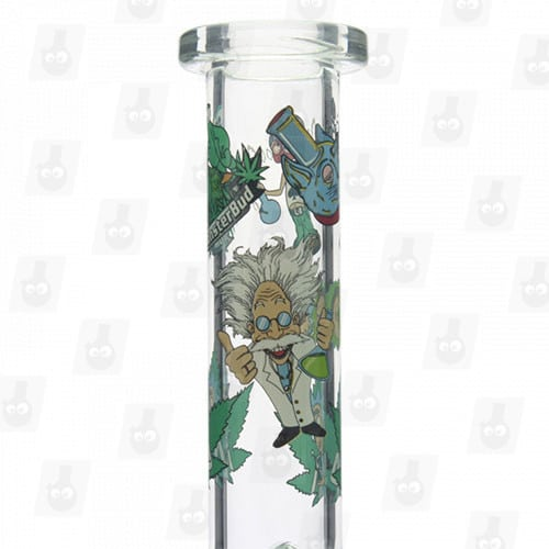 Rick and Morty Glass Collection 1 Option D 8 Inches Water Piece4