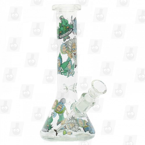 Rick and Morty Glass Collection 1 Option D 8 Inches Water Piece5