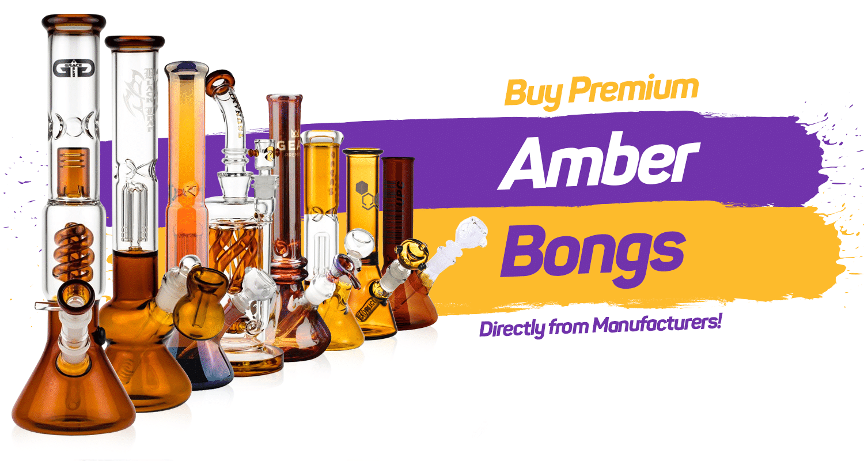 Amber Bongs