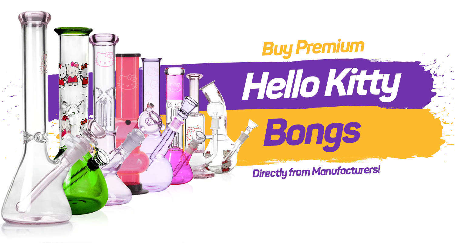 Hello Kitty Bongs