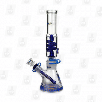 Holy Priest ⋇ 3 Colors ⋇ 12 Modular Glycerin Bong_Blue2