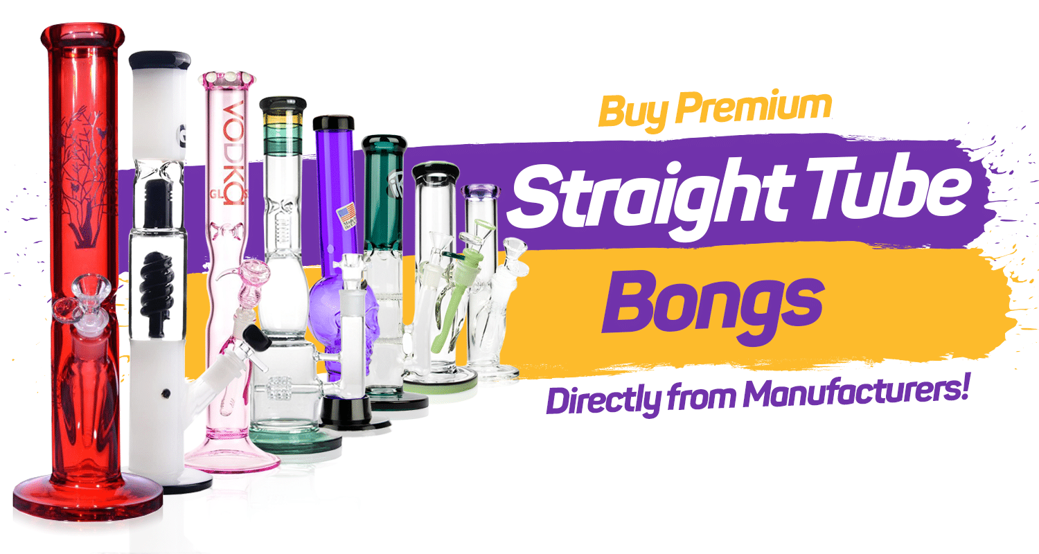 Straight Tube Bongs