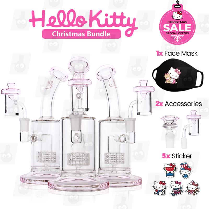 BUNDLE Hello Kitty Matrix Bong
