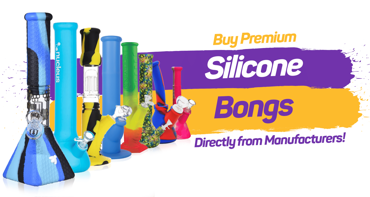 luxury silicone bongs from the manufacturer