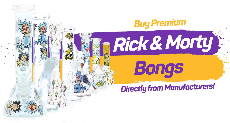 Rick and Morty Bongs