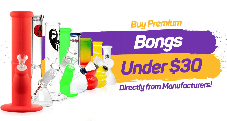 DippyGlass premium bongs for under $30