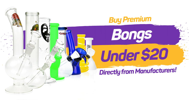 Bongs under $20