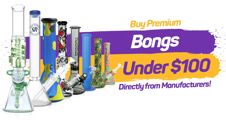 exclusive bongs under $100 premium quality