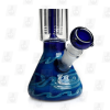 Blue Skies 11 Inch Tall Perc Glass Ice Bong_Image4