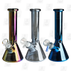 Little Space Ship 3 Colors 8 Inch 5mm Blasted Ice Glass Bongs1
