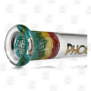 Rasta Beaker 18 Inch Premium 7mm Rasta Ice Glass Bong tube laying