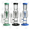 The Little Master 3 Colors 12 Inch Perc Ice Glass Bongs1