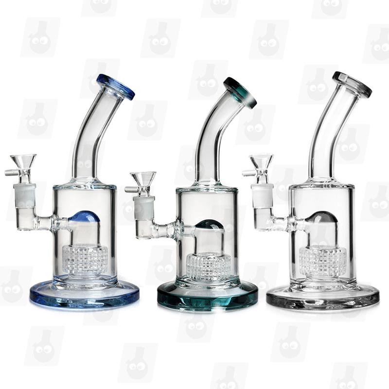 Triple Matrix 2 Colors 9 Inch Premium Triple Perc Glass Bongs