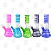 Mini Spring Flower 5 Colors 8 Inch Percolator Glass Ice Bongs_MAIN