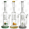 Precious Fish Tank 3 Colors 14 Inch Colored Fish Perc Glass Bongs1