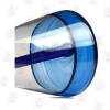 Drippy Beaker Blue 10 Inch Multicolored Ice Glass Bongs Base