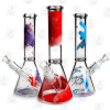 The Splasher 3 Colors 10 Inch Colorful Ice Glass Bongs