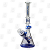 Slim Skinner Blue 10 Inch Dual Use Glass Bongs
